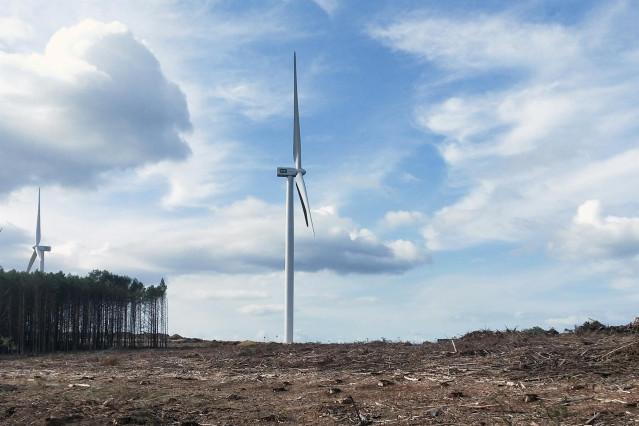 Eólicos de Paradela (Lugo)