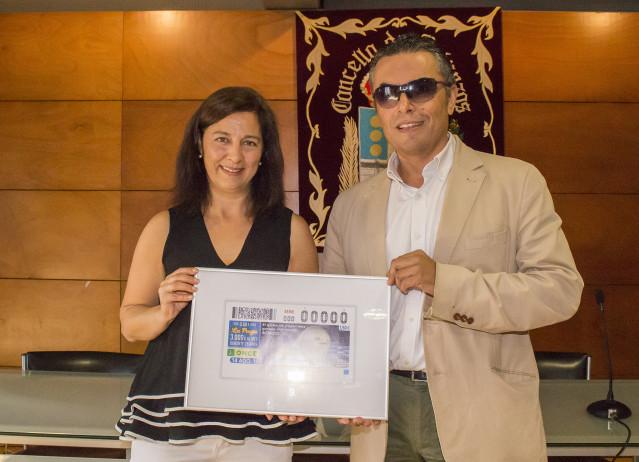 Presentación del Cupón de la ONCE dedicado al Globo de Betanzos