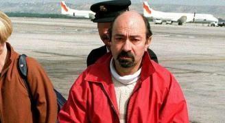 El miembro de ETA Rafael Caride Simón en una foto de archivo tras su detención.