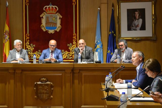 Pleno de la Diputación de Ourense