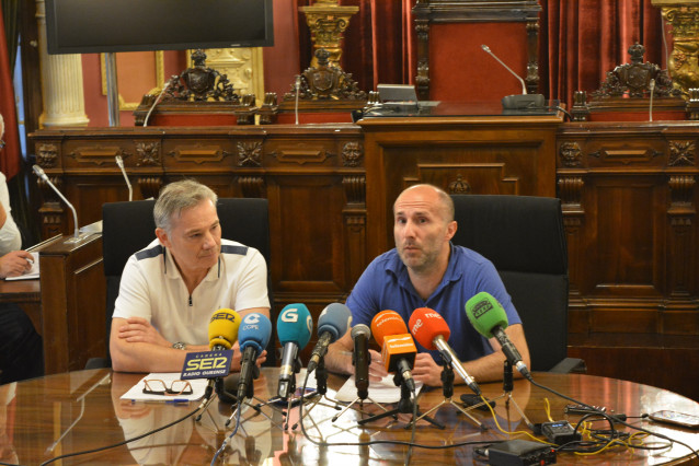 Rueda de prensa del alcalde de Ourense, Gonzalo Pérez Jácome.