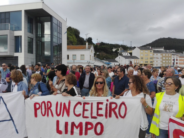 Imagen de la manifestación de este sábado.
