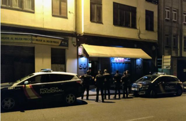 Detenida una mujer por causar altercados en dos locales de ocio de Lugo.