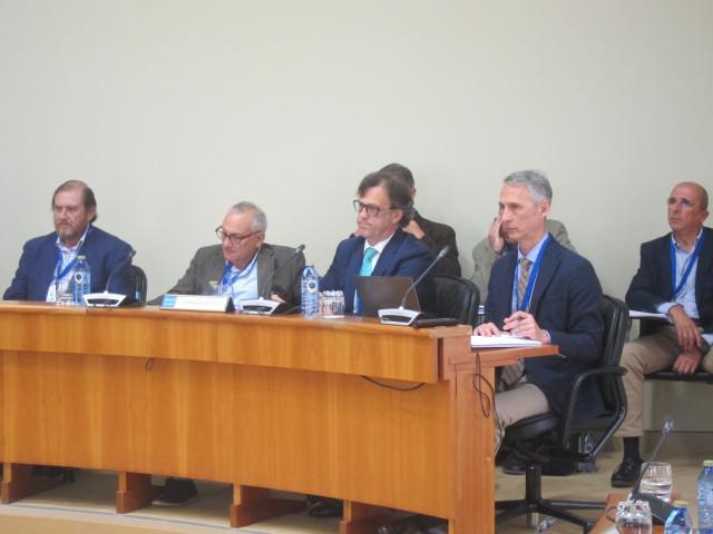 Expertos sobre incendios en el Parlamento gallego