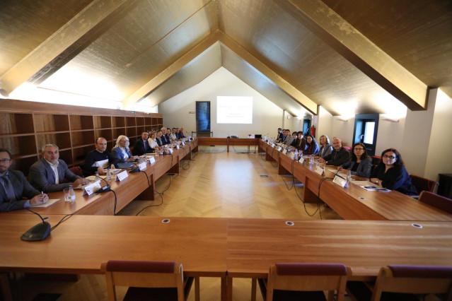 Reunión de la Comisión Ejecutiva del Consejo Jacobeo en Pamplona.