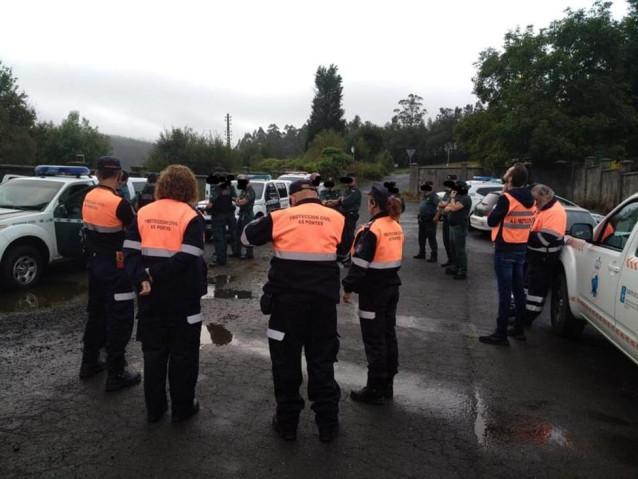 Amplio dispositivo de búsqueda por los municipios coruñeses de Cerdido y Moeche del joven desaparecido en Ortigueira.