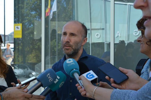 El alcalde de Ourense, Gonzalo Pérez Jácome.