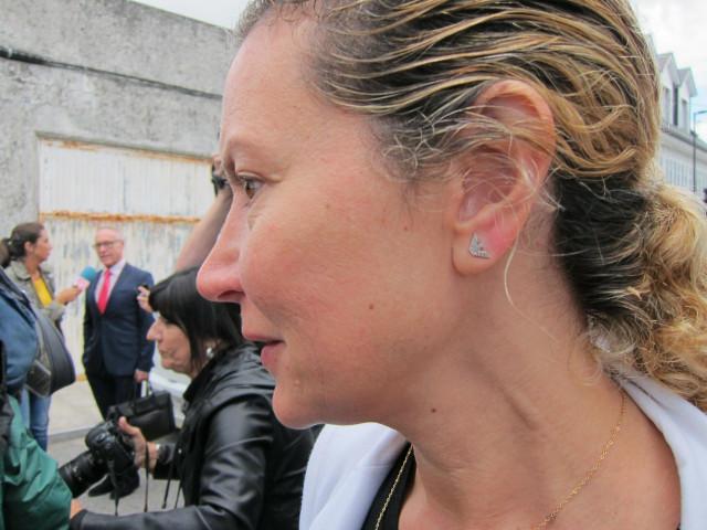 Diana López-Pinel, madre de Diana Quer, en una foto de archivo.