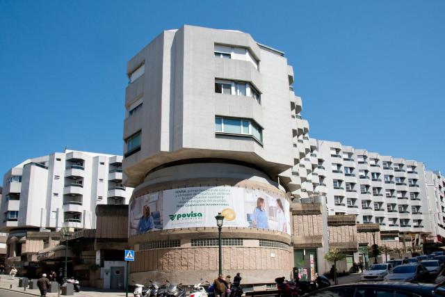 Fachada del Hospital Povisa de Vigo.
