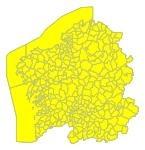 Aviso amarillo por lluvia, viento y olas en Galicia el 22 de noviembre.