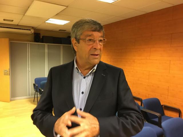 Presidente de la Federación Galega de Comercio, José María Seijas.