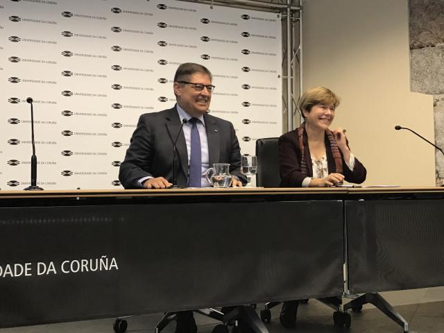 El rector de la UDC, Julio Abalde, reelegido en el cargo