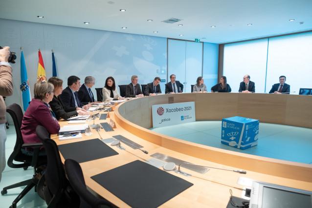 Rueda de prensa del Consello de la Xunta