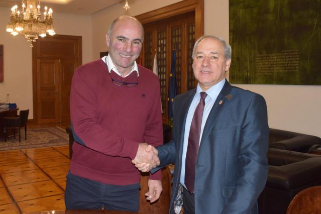 El presidente de la Diputación de Lugo y el acalde de Castroverde