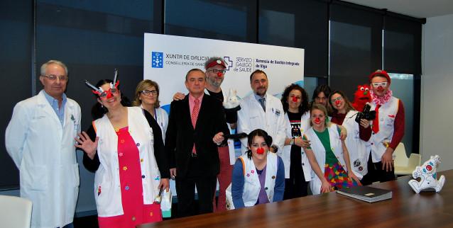El área sanitaria de Vigo ha firmado un convenio con la asociación Galiclown