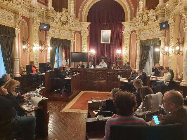Pleno del Ayuntamiento de Ourense.