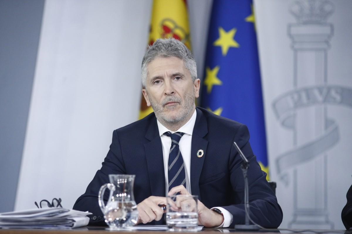 Marlaska rueda de prensa consejo de ministros